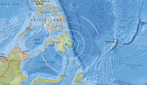 필리핀 남부 규모 6.4 지진