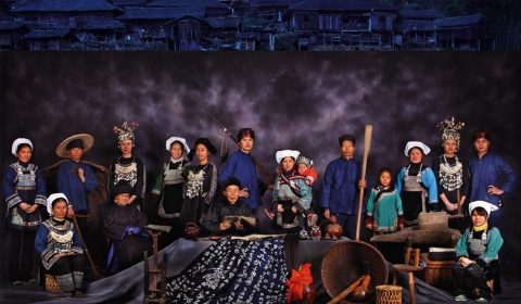 중국의 소수민족 수이족(水族)들을 위하여....