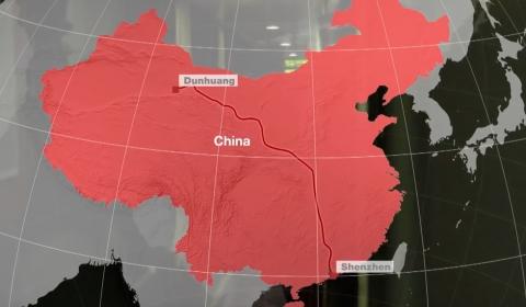 신 실크로드 - 중국에서 파키스탄, 키르기스스탄에서 두스부르크까지....