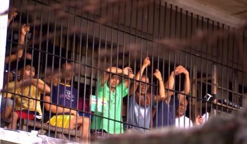 필리핀 남부 코타바토 감옥