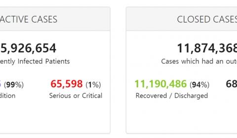 COVID-19 Coronavirus Pandemic  / August 01, 2020, 12:17 GMT